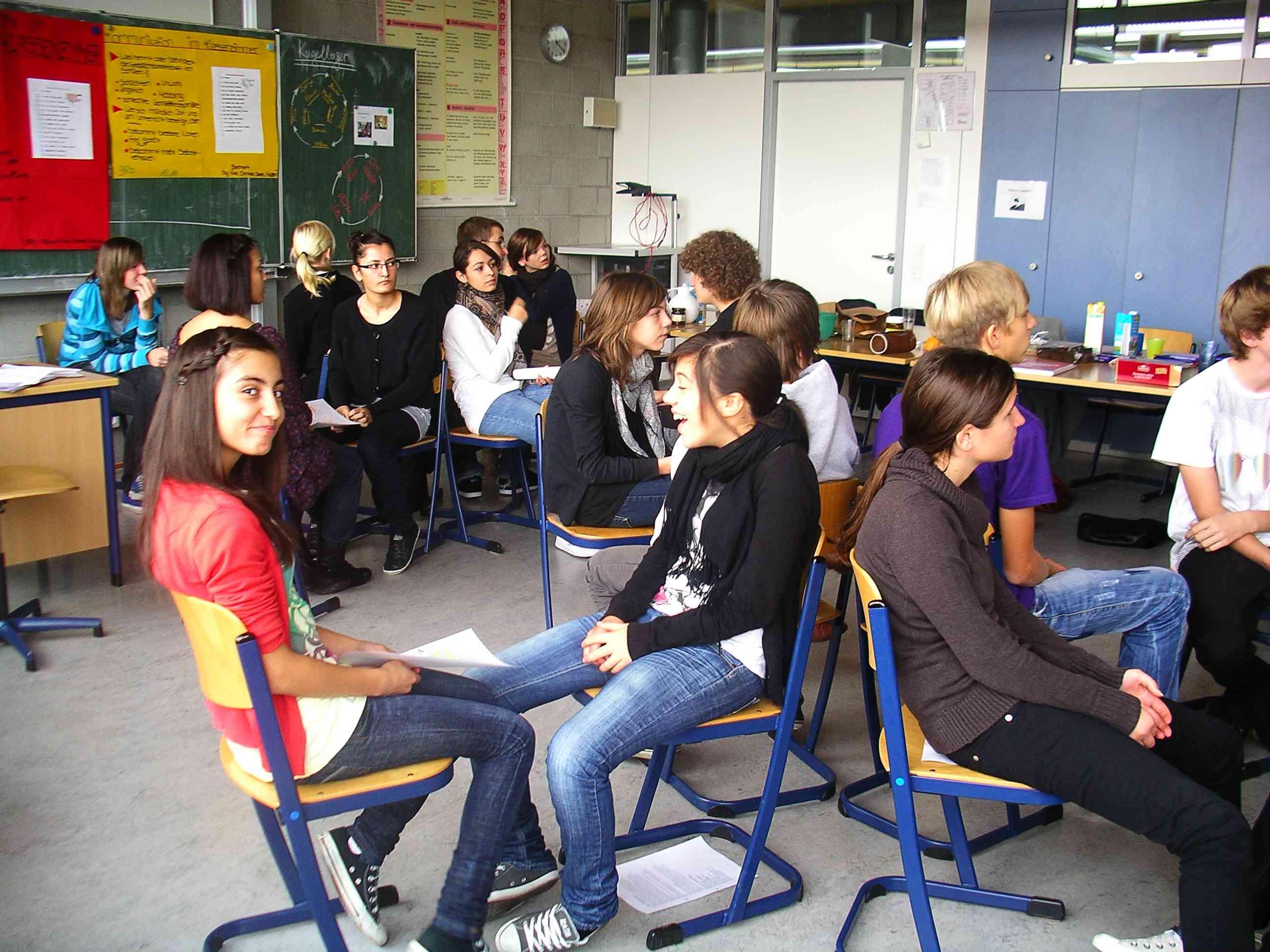 Stuhlkreis schule  Bönnigheim - Methodentag